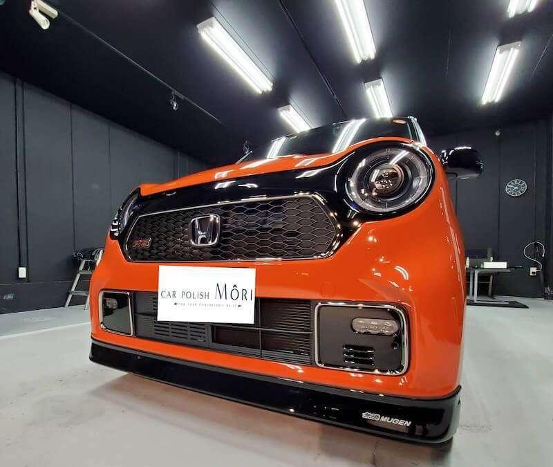 ホンダ N-ONE RS FFターボ×6MT(軽初)サンセットオレンジ×ブラック